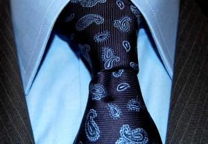 Krawat Iannalfo & Sgariglia we wzorek paisley
